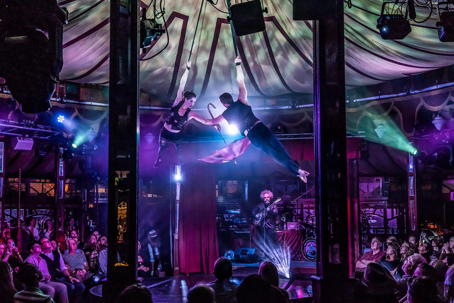 fringe festival acrobats